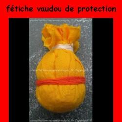 fétiche vaudou de protection