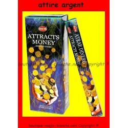 encens attire argent
