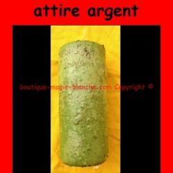 BOUGIE ATTIRE ARGENT